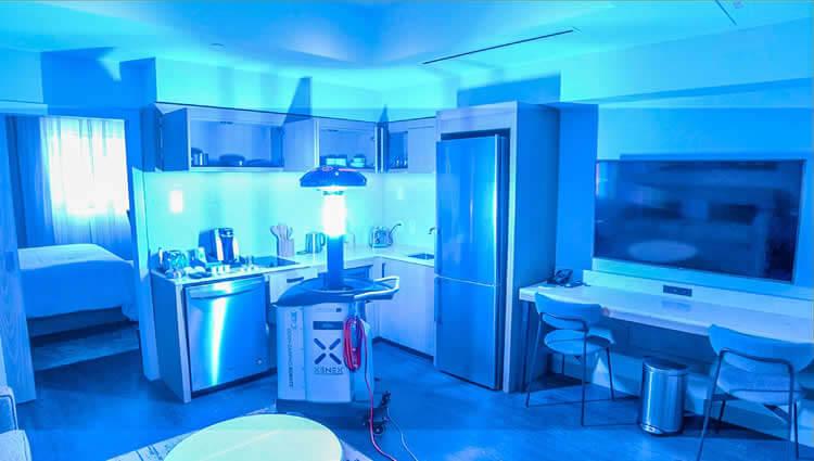 UV Light Disinfections